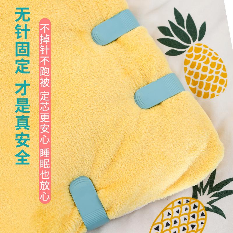 厂家直销北欧被子固定器新一代棉被固定夹子零食封口夹被套固定器
