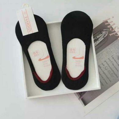 袜子夏季短袜船袜女棉线低帮浅口隐形硅胶防止滑不掉跟袜套女