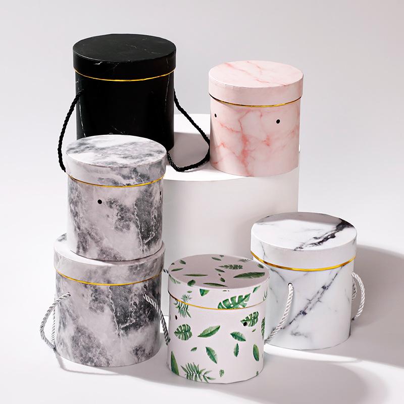 印刷面圆形套二抱抱桶喜糖盒饰品包装盒来样定做