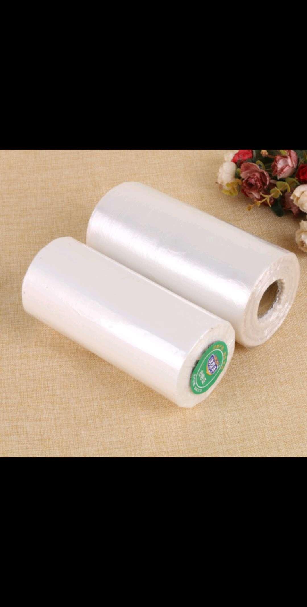 保鲜袋,保鲜膜,超市连袋每款有3种尺寸