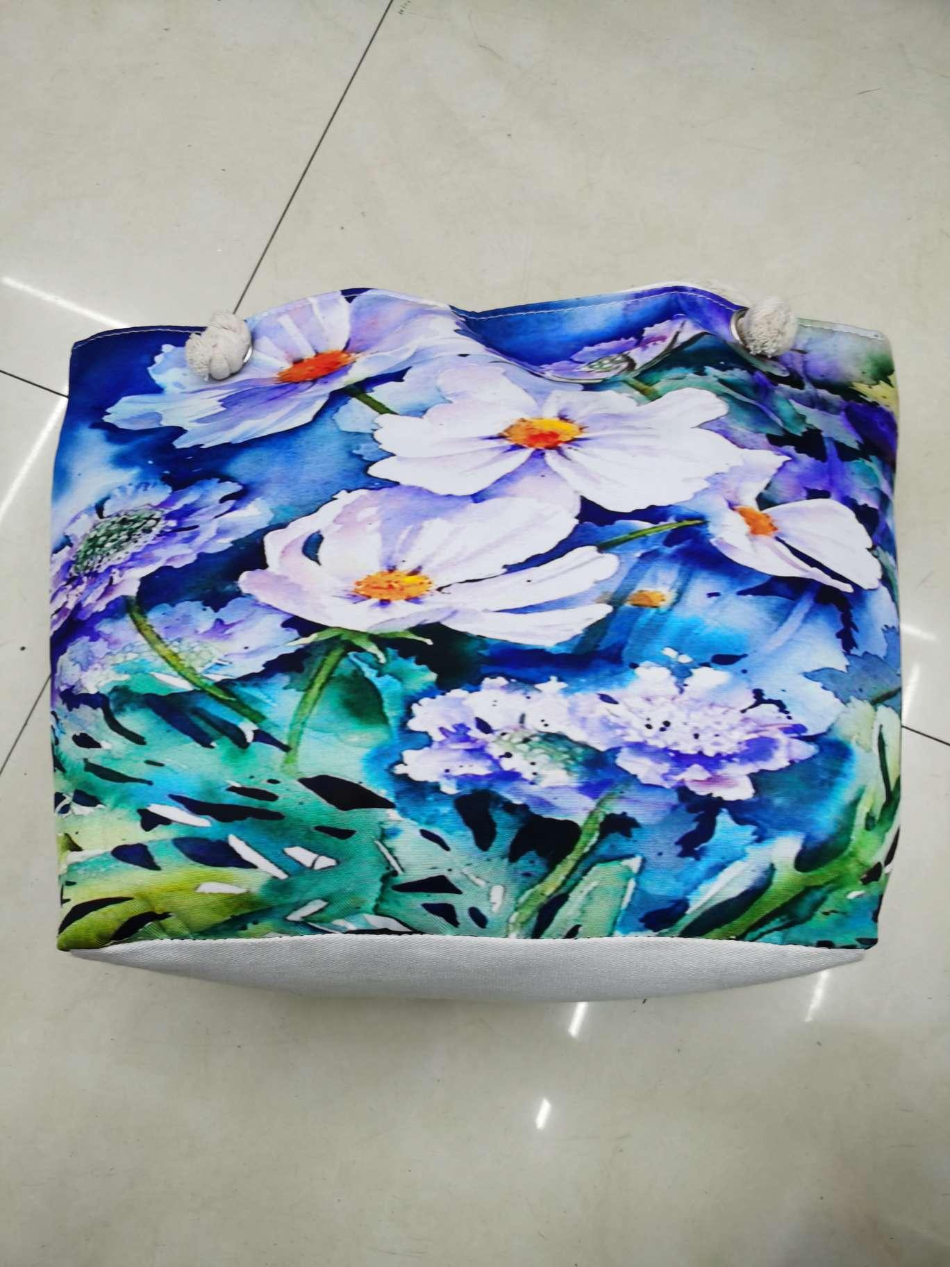 花朵沙滩包