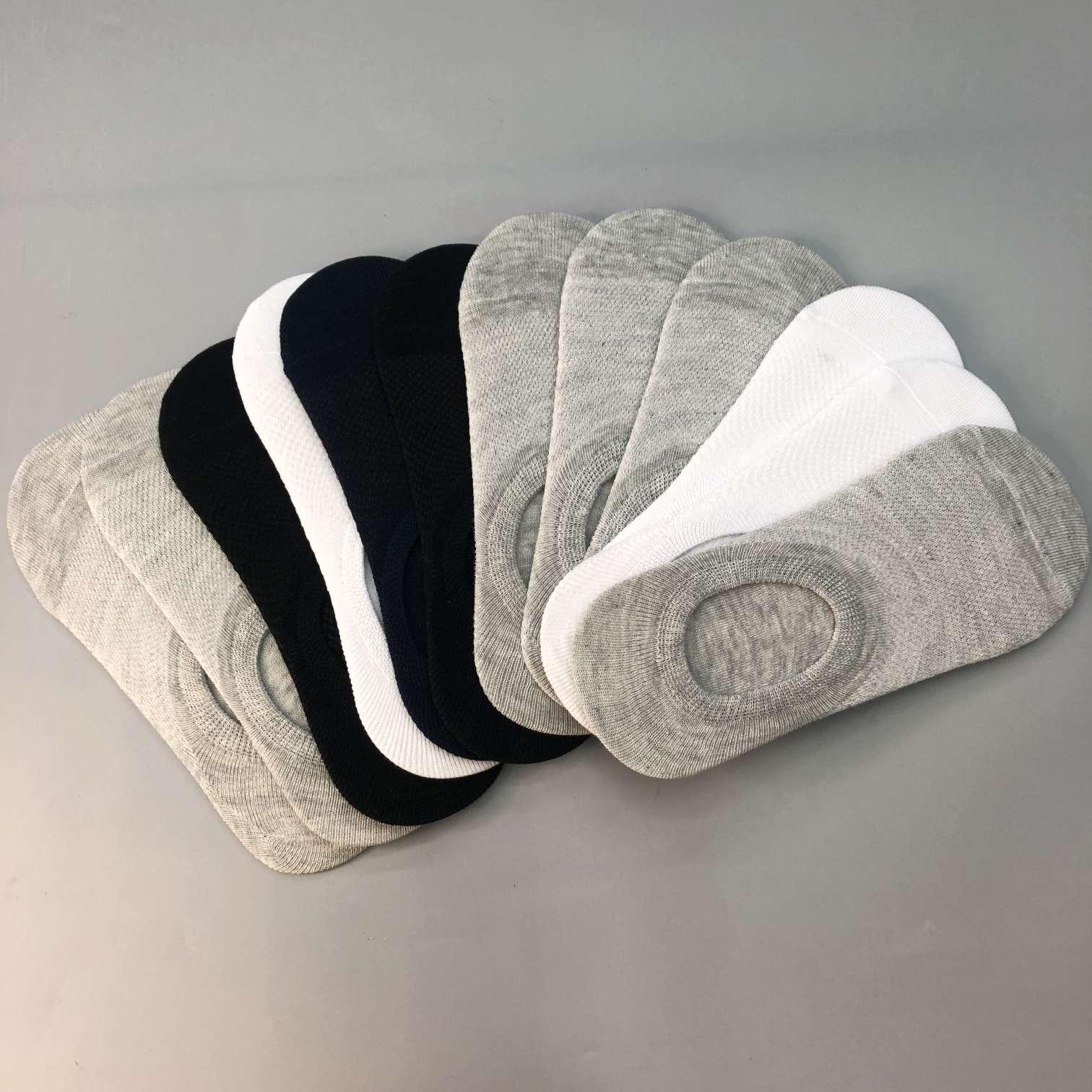 袜子男士船袜女士船袜男短袜情侣袜隐形硅胶船袜地板袜空调袜