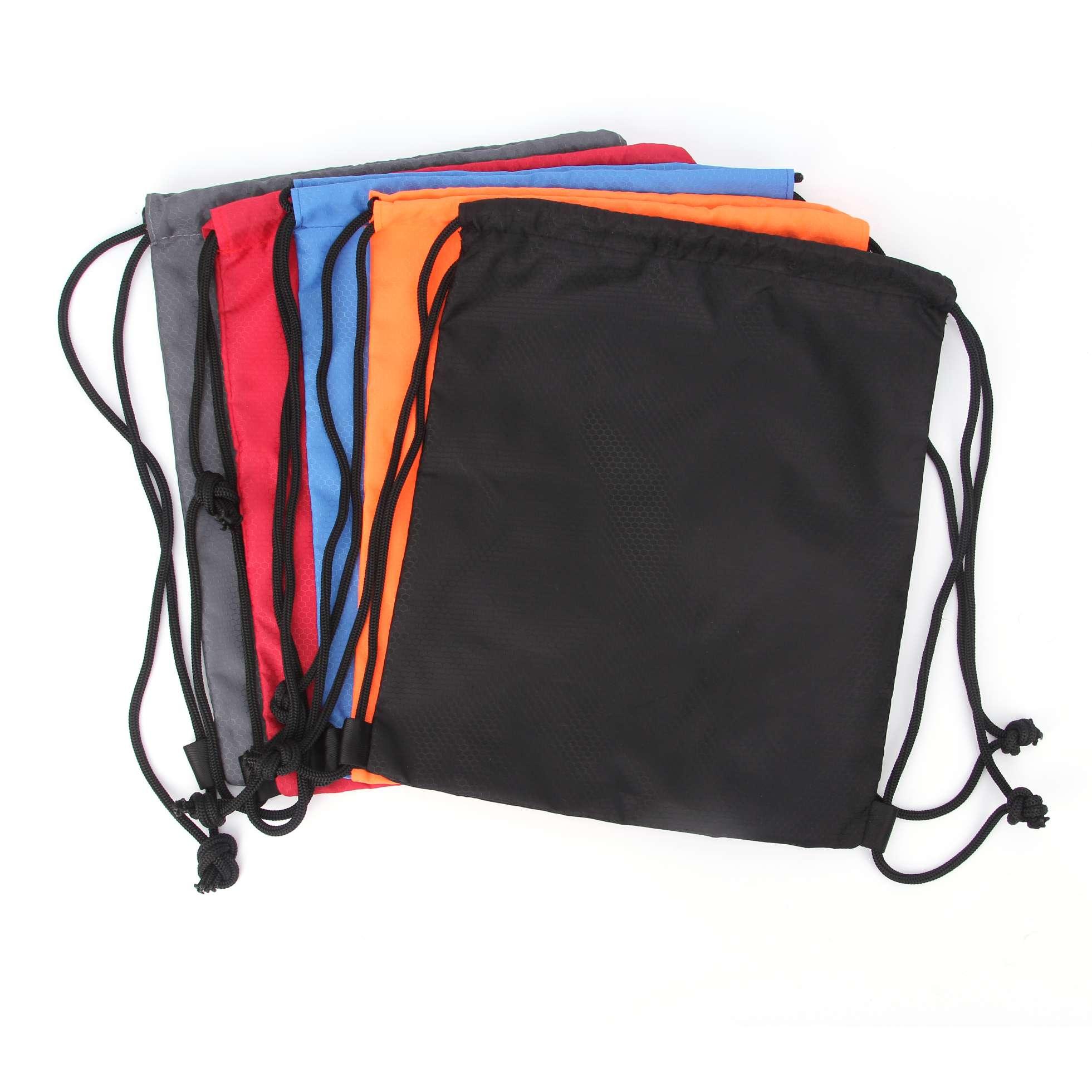 束口袋双肩包防水轻便折叠旅行运动简易背包健身男女拉绳购物袋