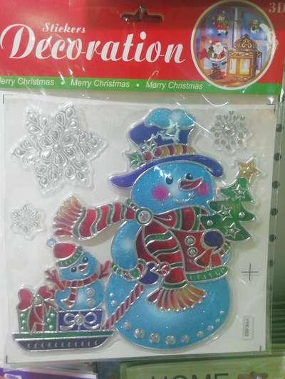 厂家直销圣诞贴画