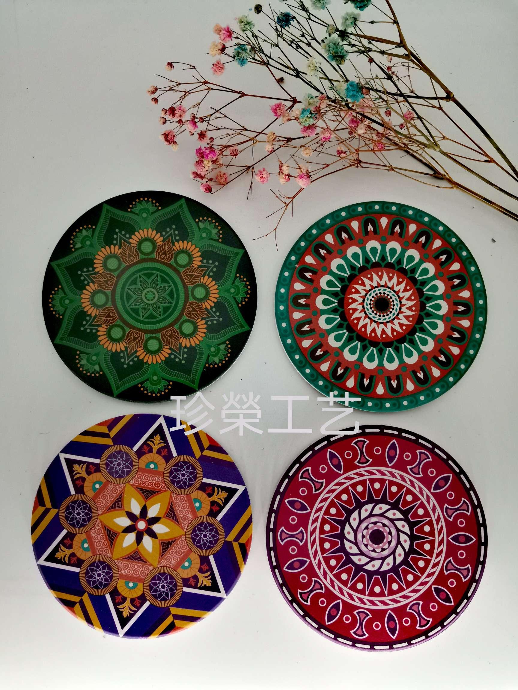 陶瓷吸水杯垫