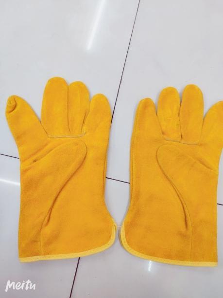 电焊手套   牛皮二层手套   劳保手套