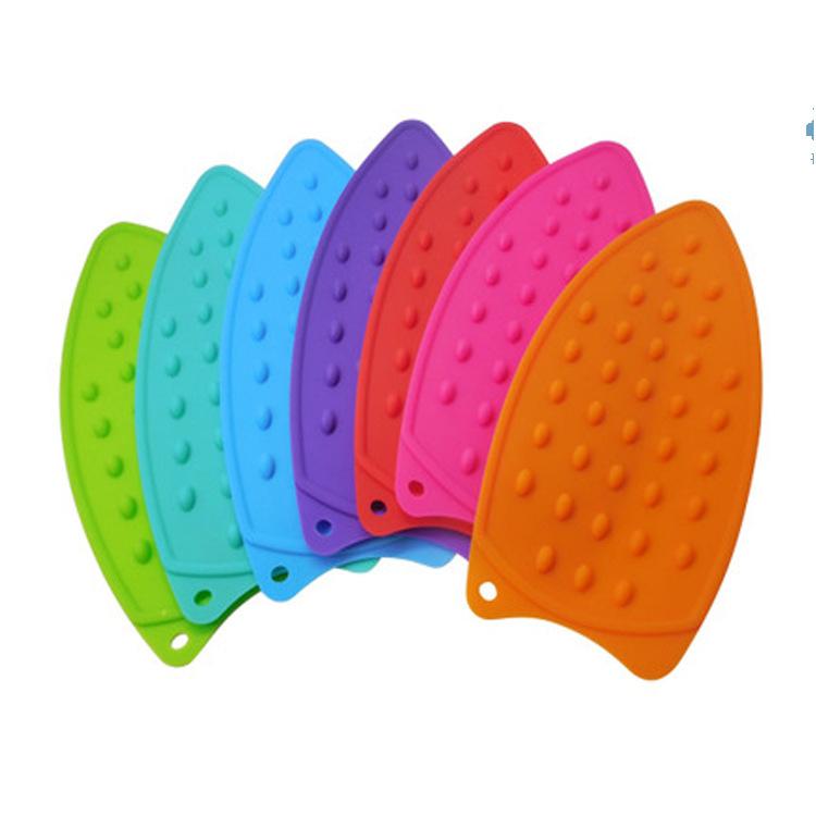 硅胶烫斗垫电烫斗垫硅胶隔热垫耐高温垫电熨斗配件烫衣板垫子配件