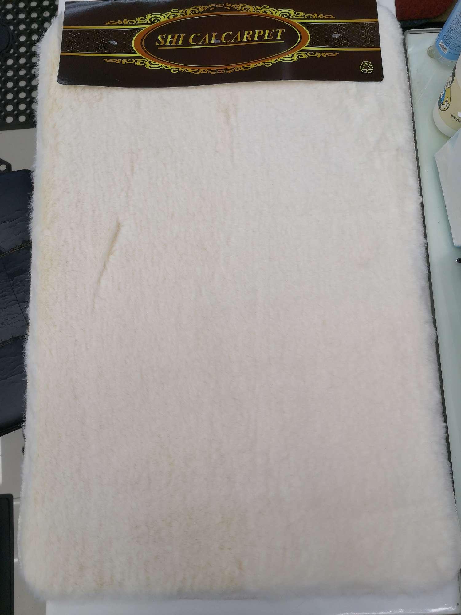 兔毛地毯50*80cm