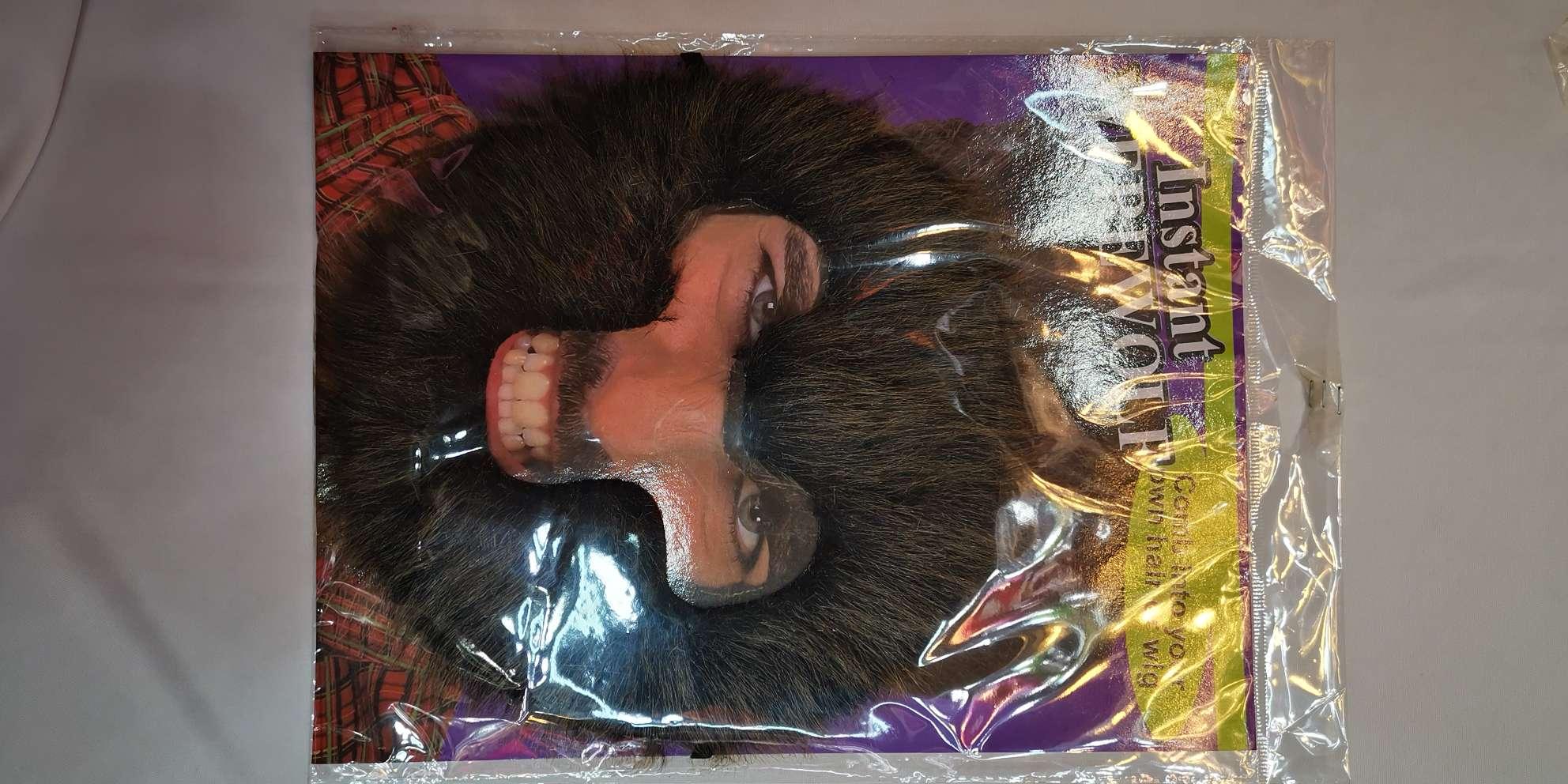 节日用品派对用品胡子    猩猩胡子