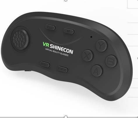 千幻一代蓝牙游戏手柄  SC-B01  新款爆款3D眼镜VR虚拟现实蓝牙遥控器
