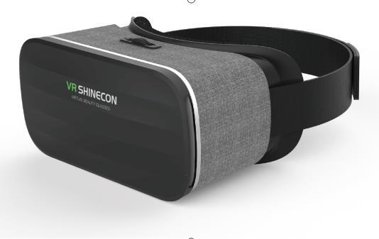 千幻魔镜布艺款二代  SC-Y005 新款爆款 3D虚拟现实VR眼镜、智能手机游戏高清vr眼镜