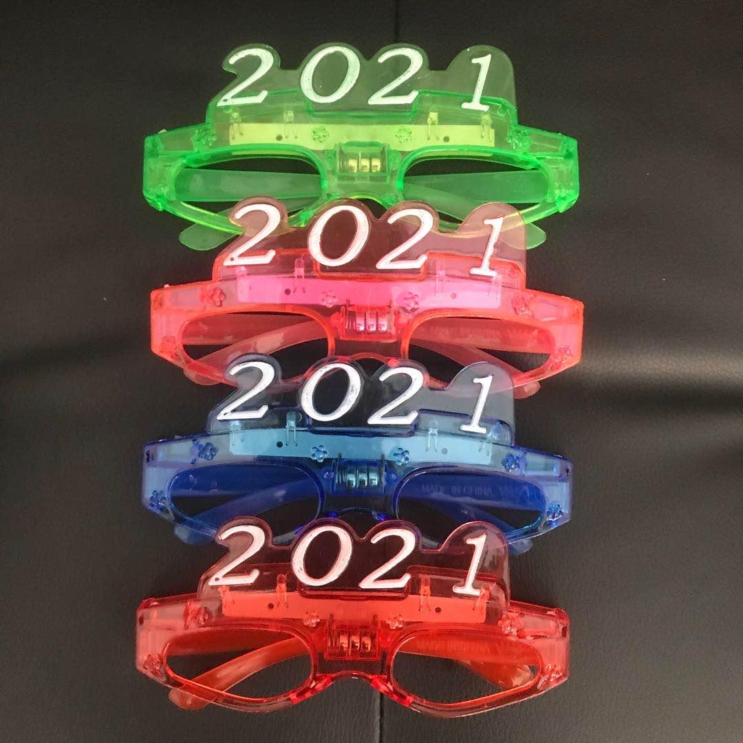 2021带灯眼镜带灯儿童眼镜舞会演唱会装饰儿童眼镜工厂直销批发零售