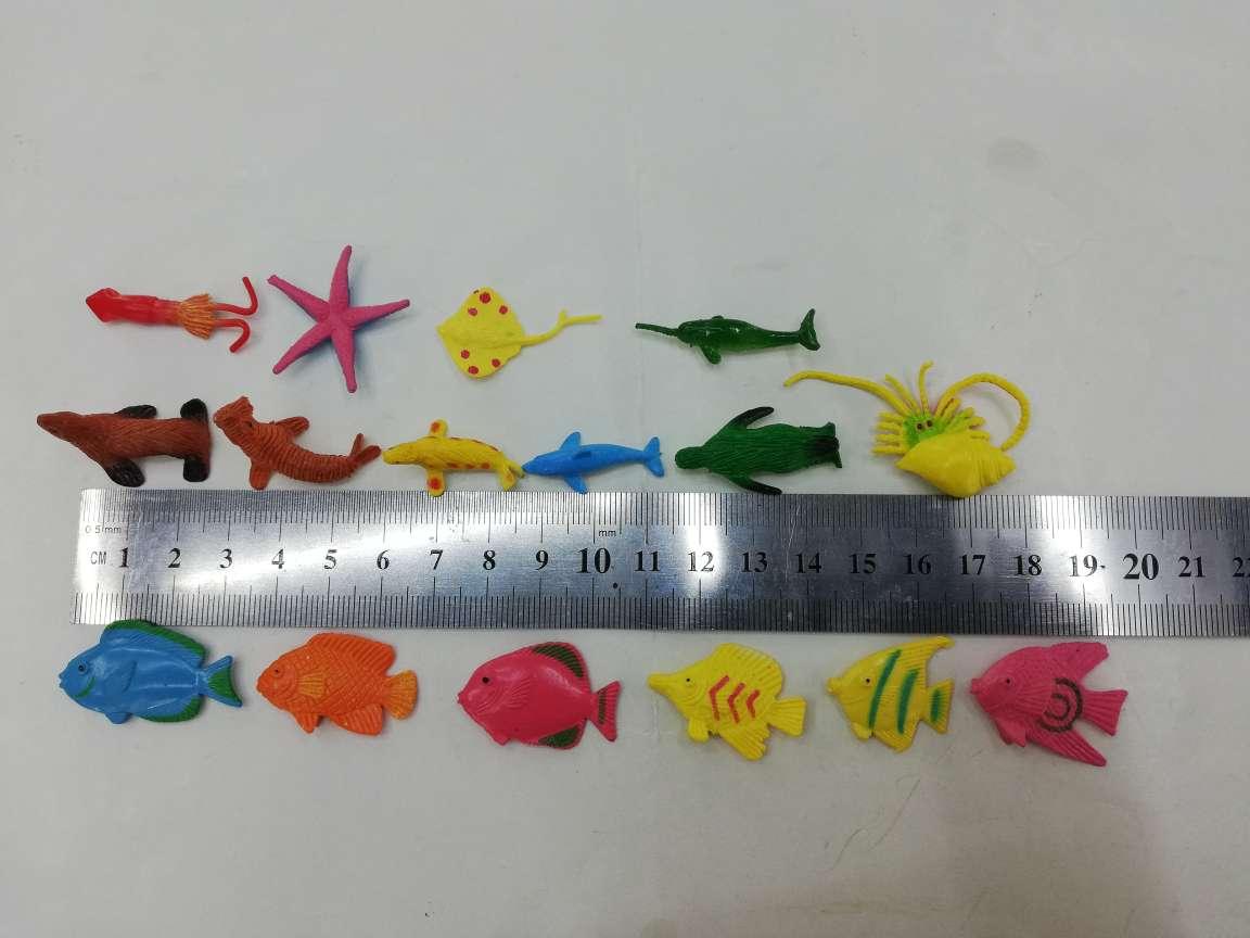 PVC塑胶仿真16款海洋动物YL-062
