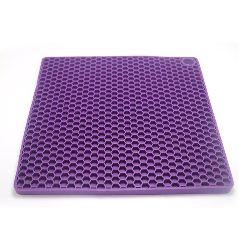 厂家直销创意硅胶 方形蜂窝硅胶垫 防滑垫 隔热垫 蜂窝防烫硅胶垫