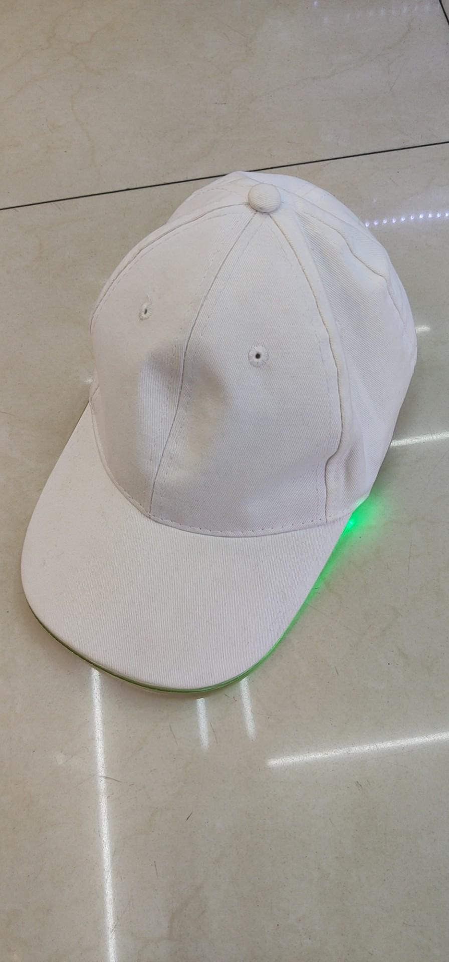 电子发光帽子遮阳夏天鸭舌帽酒吧聚会娱乐