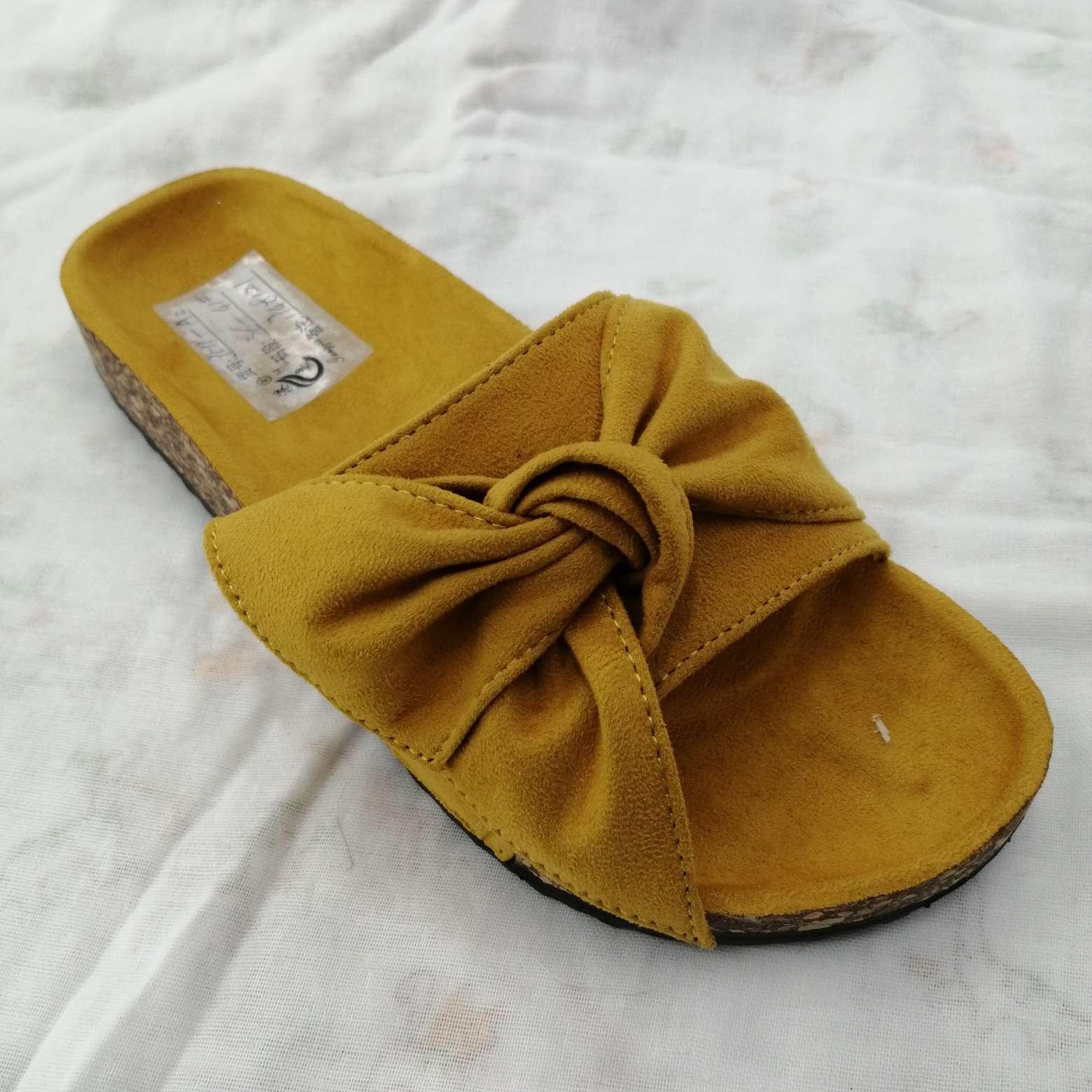 夏季时尚平跟舒适女鞋凉拖厚底松糕底