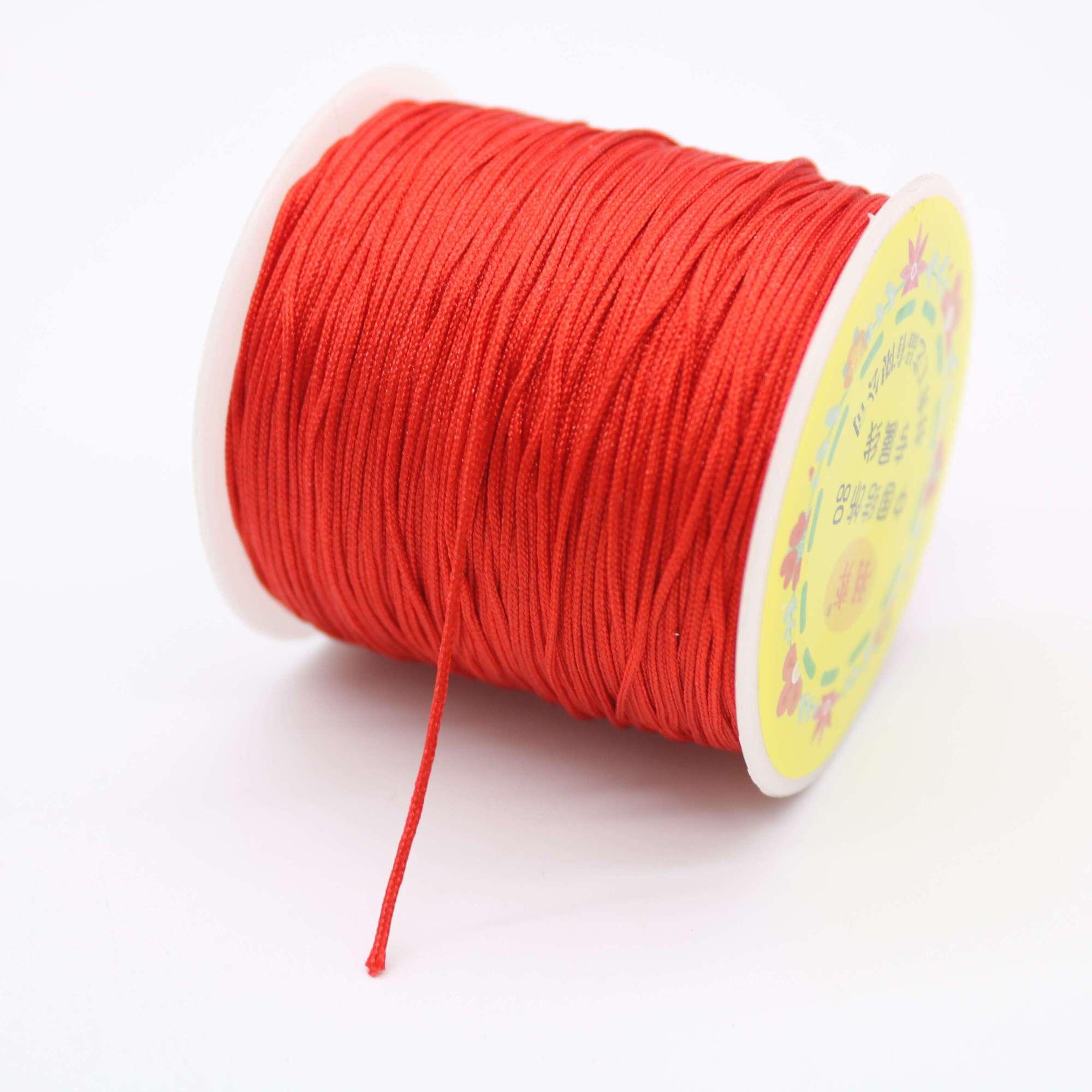 现货台湾玉线72号0.8mm细玉线手工diy编织线 中国结流苏编织线绳