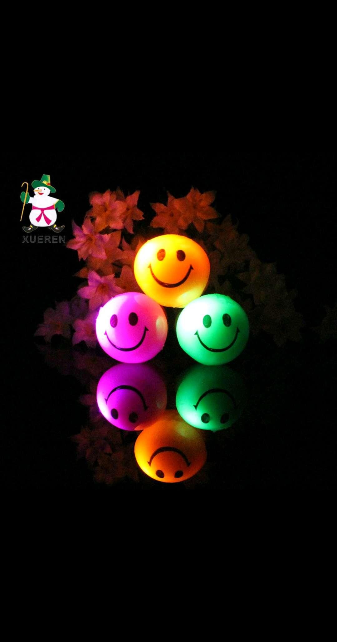 2015热销儿童玩具闪光玩具可爱笑脸发光戒指戒指地摊热卖