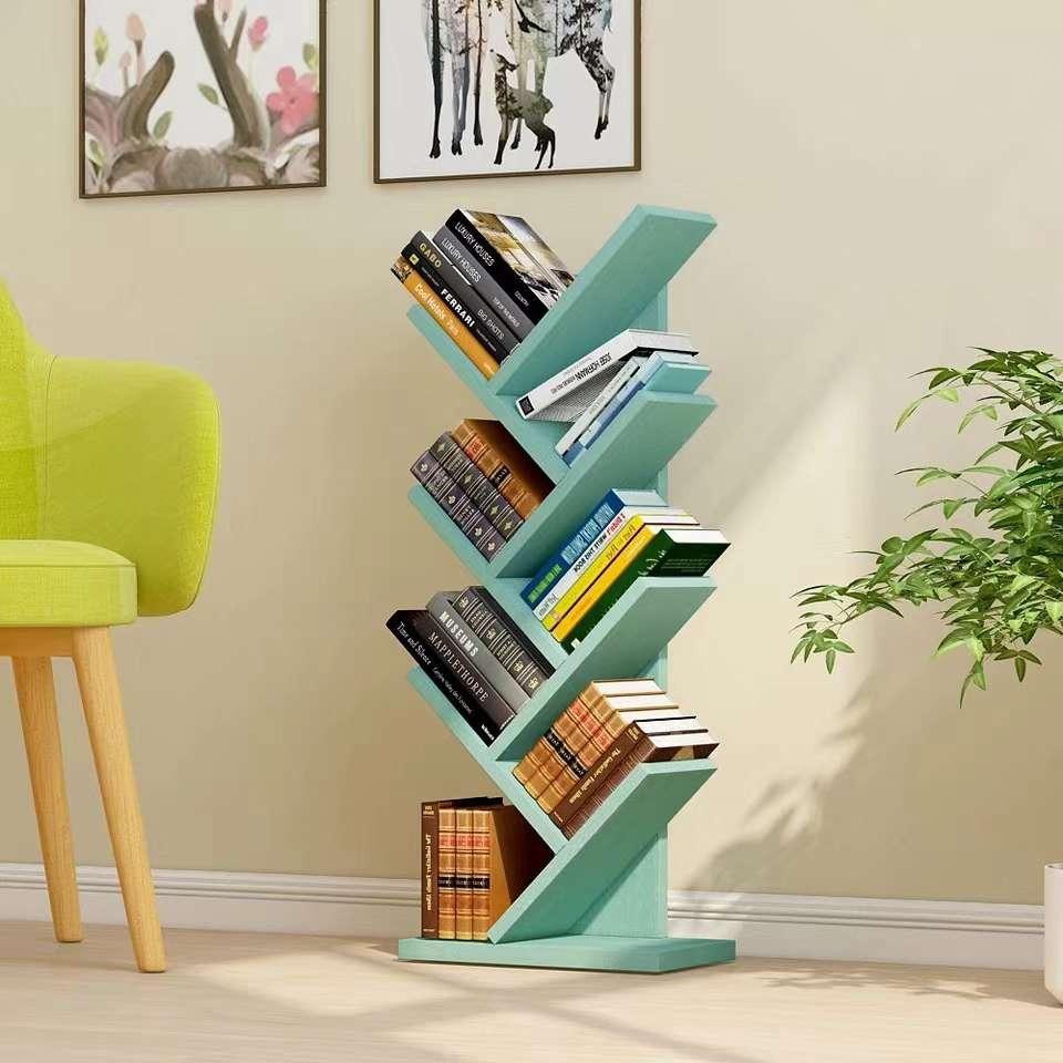创意树形书架落地简易现代儿童小学生简约小型书柜L1708
