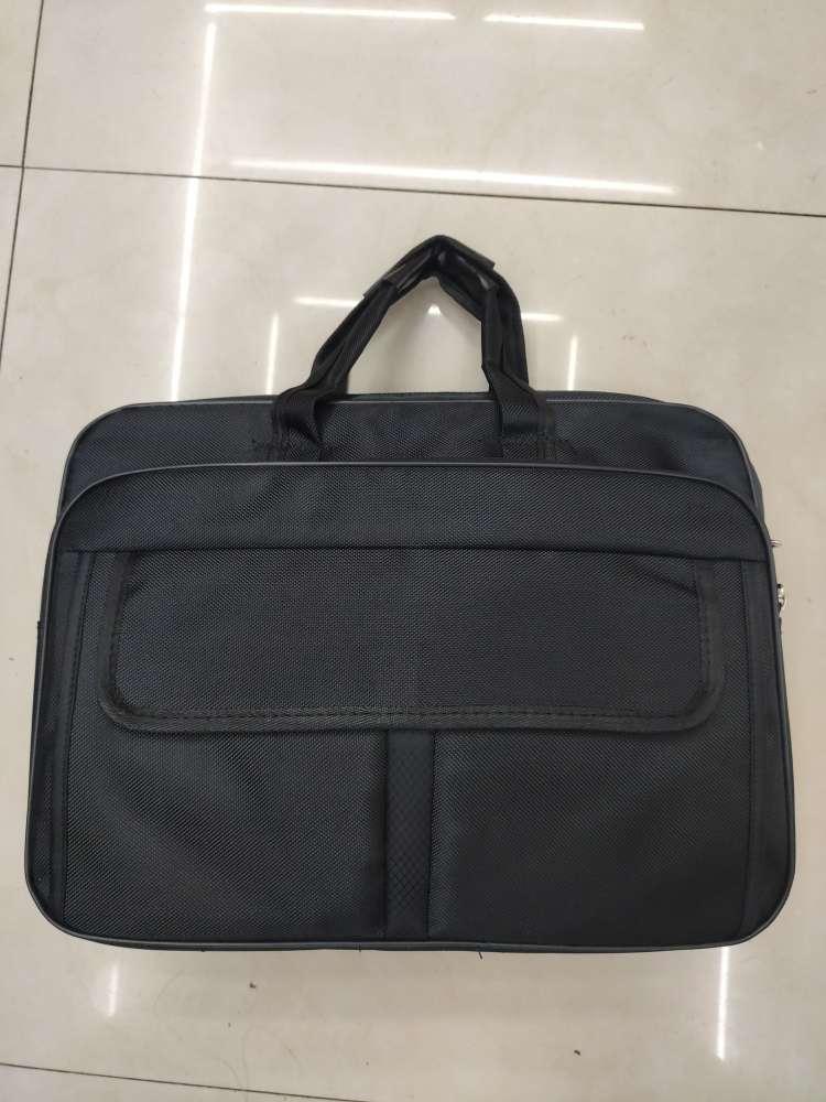 公文包男大容量商务公务男包帆布单肩斜挎牛津布男士电脑手提包包