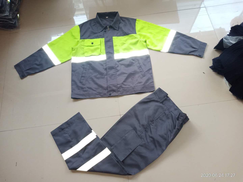 劳保服,反光劳保服,舒服面料,涤棉