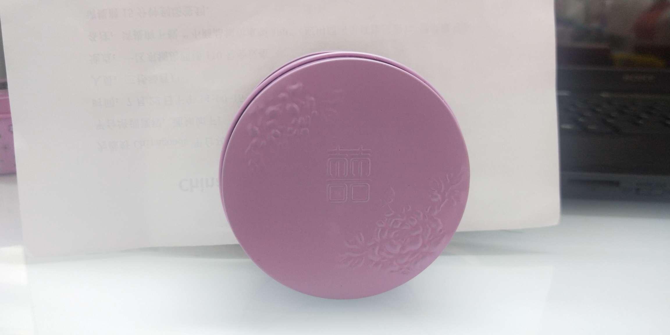 8*8*4.5cm 精美圆形包装铁盒 礼品盒C-06