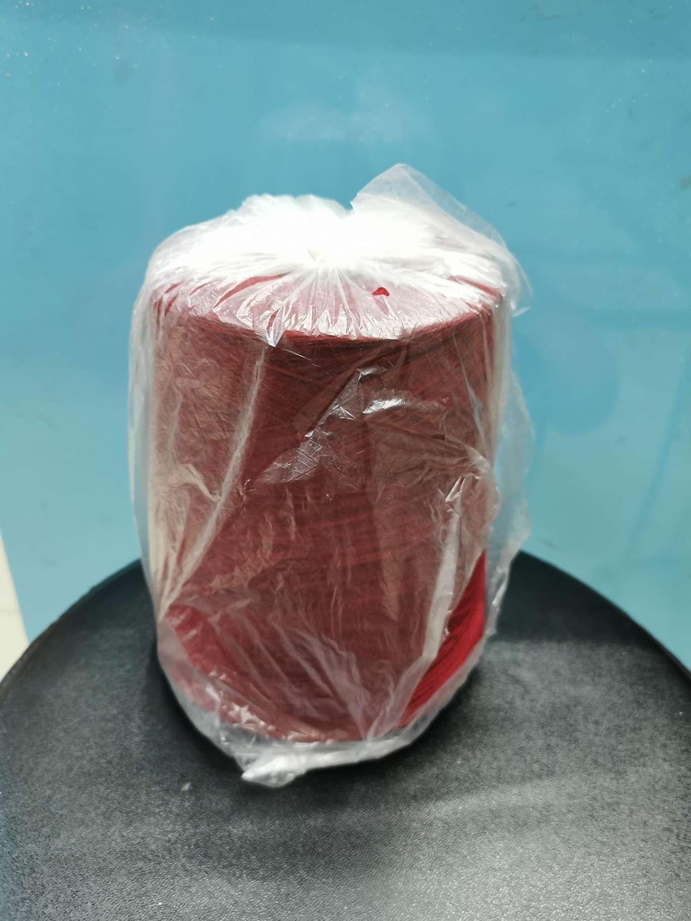 山羊绒编织线柔软贴身舒适不扎人貂绒羊绒金枝紫红