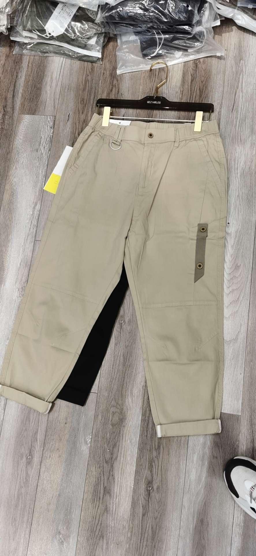 4002款裤男士新款韩版潮流宽松百搭男装上衣