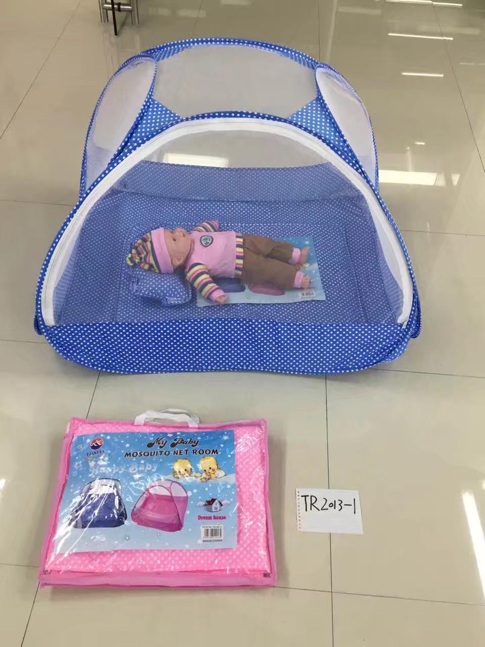 婴儿自动打开蚊帐