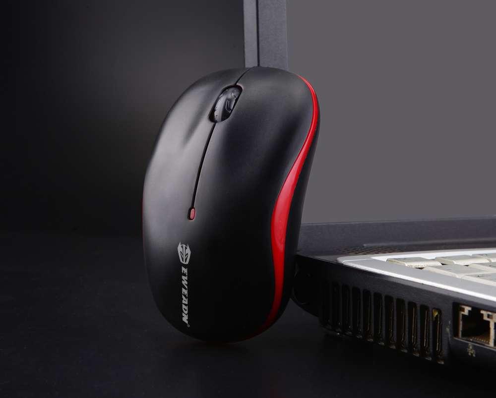 新品前行者M10 智能省电2.4G无线鼠标 手提笔记本电脑台式机通用