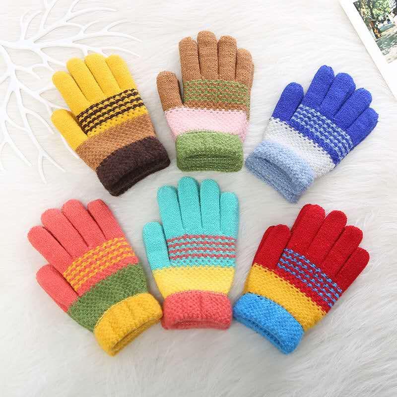 针织儿童手套
