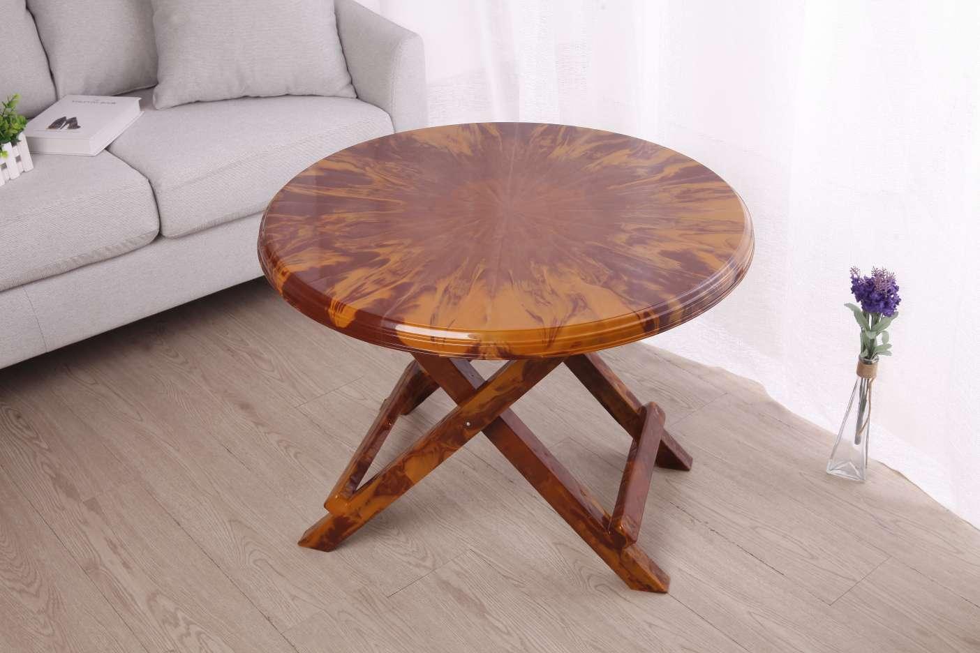 厂家直销折叠仿木纹桌子特色野餐桌便捷式茶桌