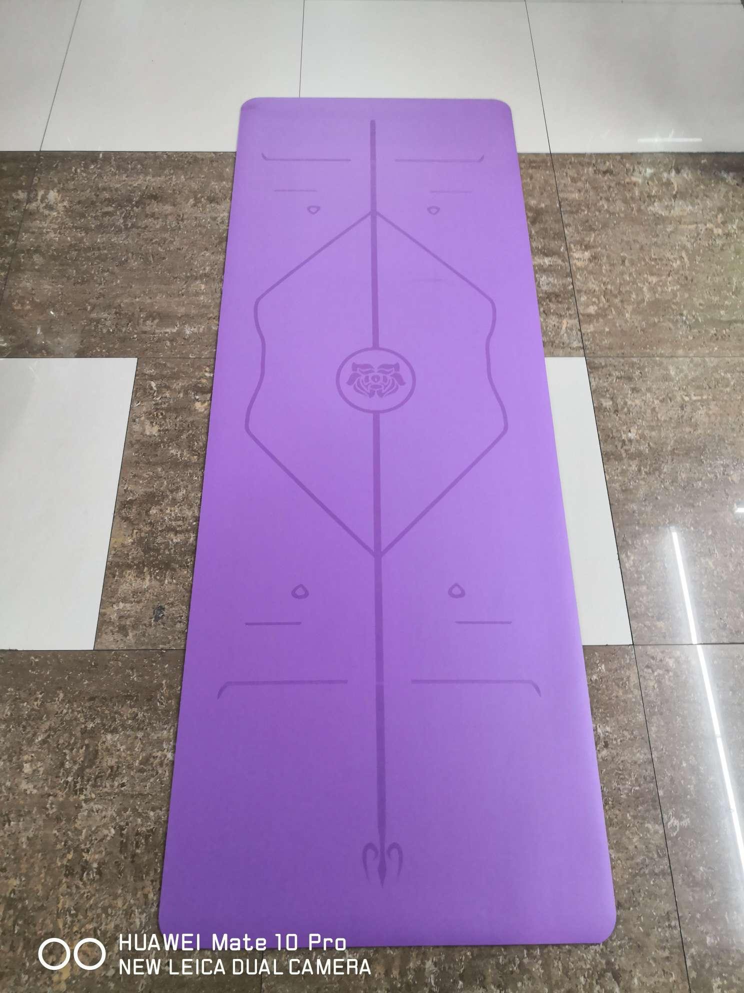 广告天然橡胶瑜伽垫  pu瑜伽垫 软木瑜伽垫 定做瑜伽垫