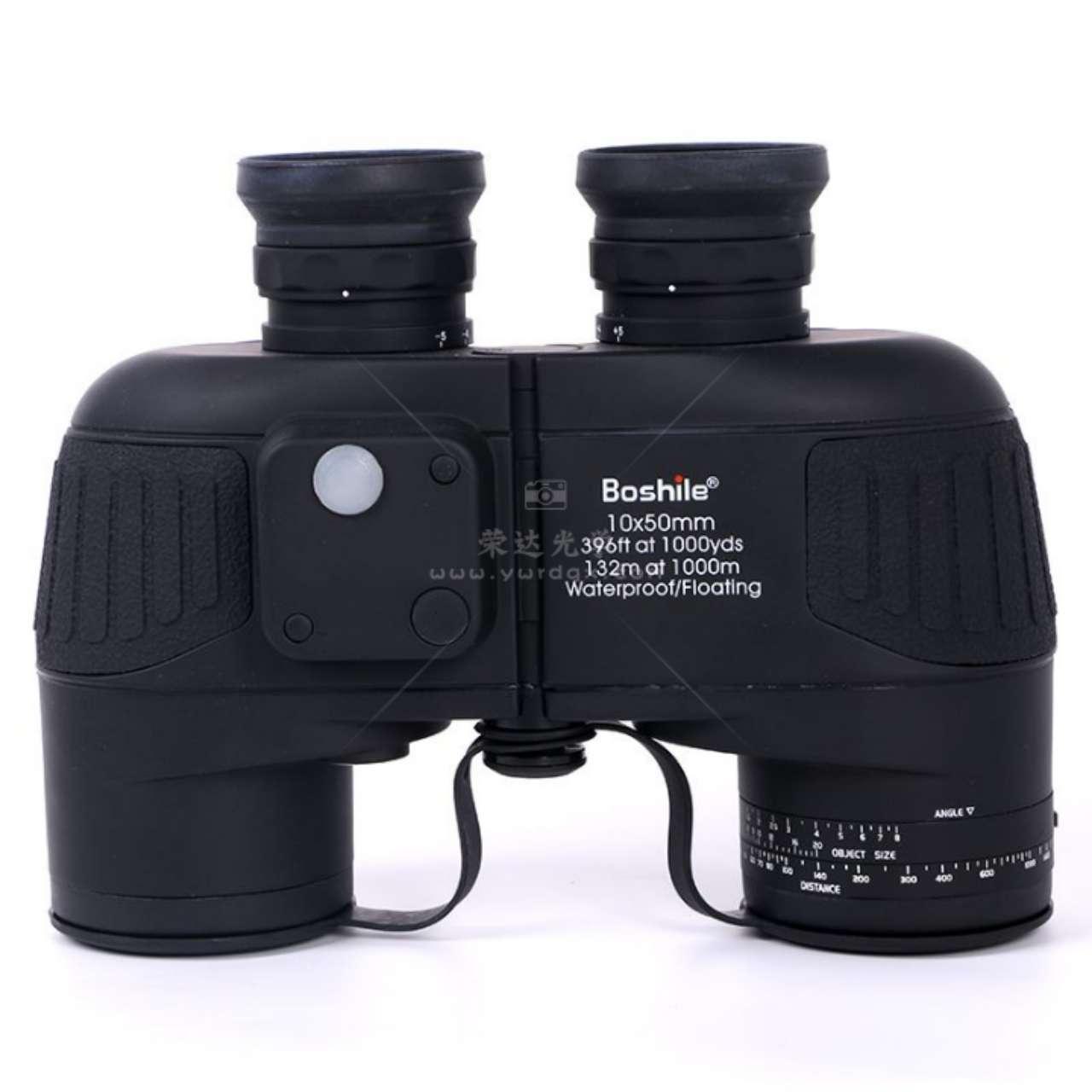 博视乐20-10*50双灯罗盘双筒望远镜黑色