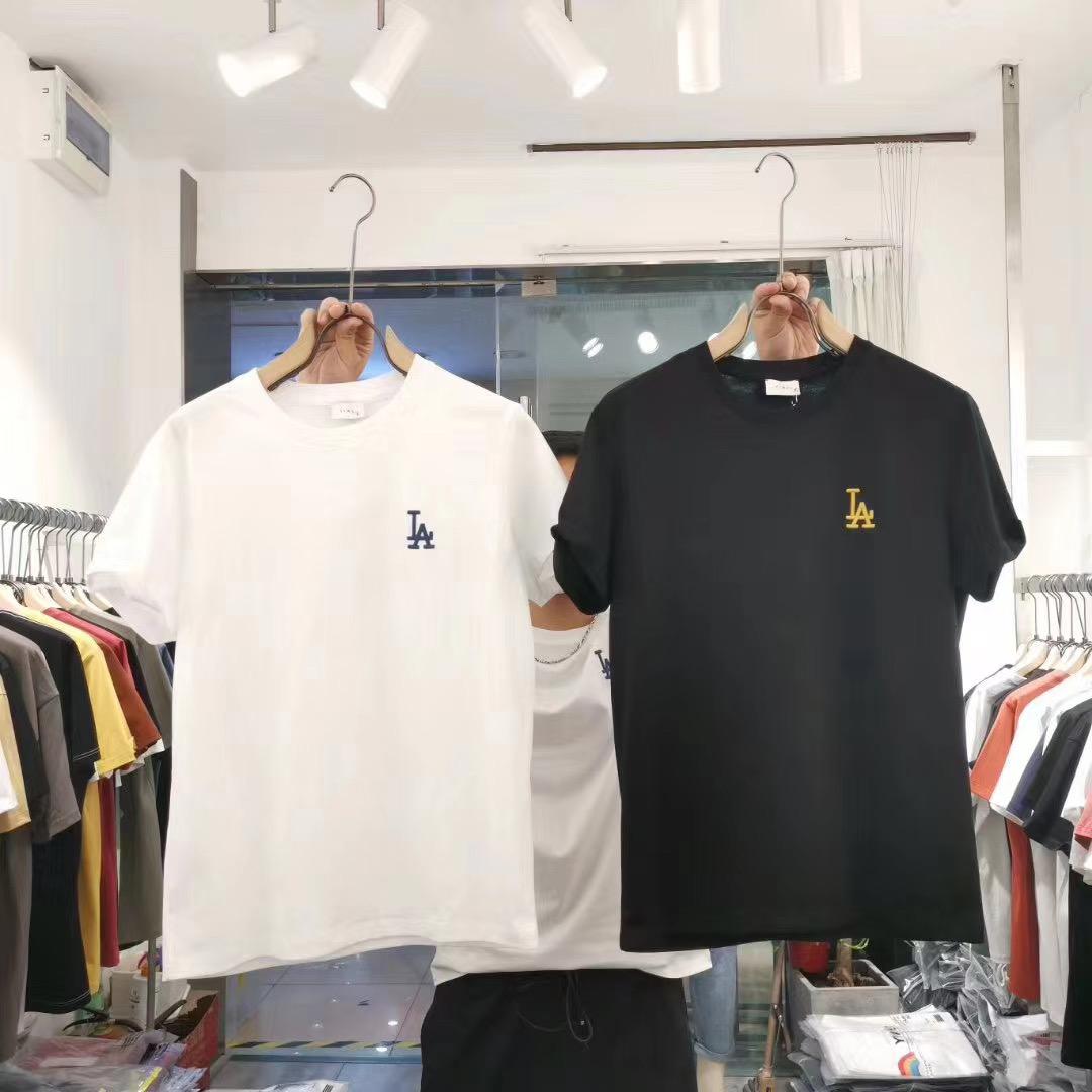 男士短袖t恤潮牌夏季韩版潮流2020新款ins宽松学生半袖体恤上衣服 黑白两款