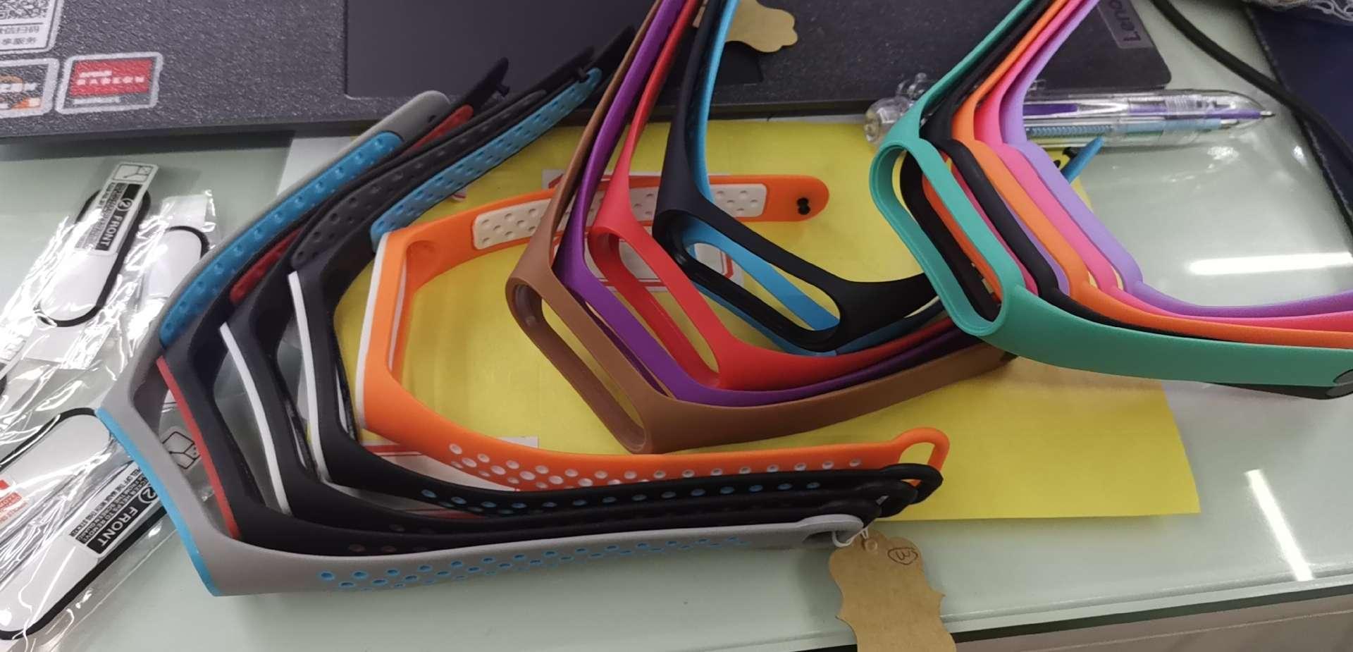 小米4代3代手环硅胶表带