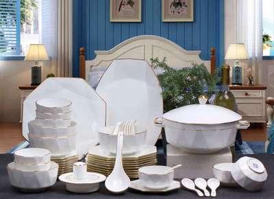 低骨质瓷60头餐具