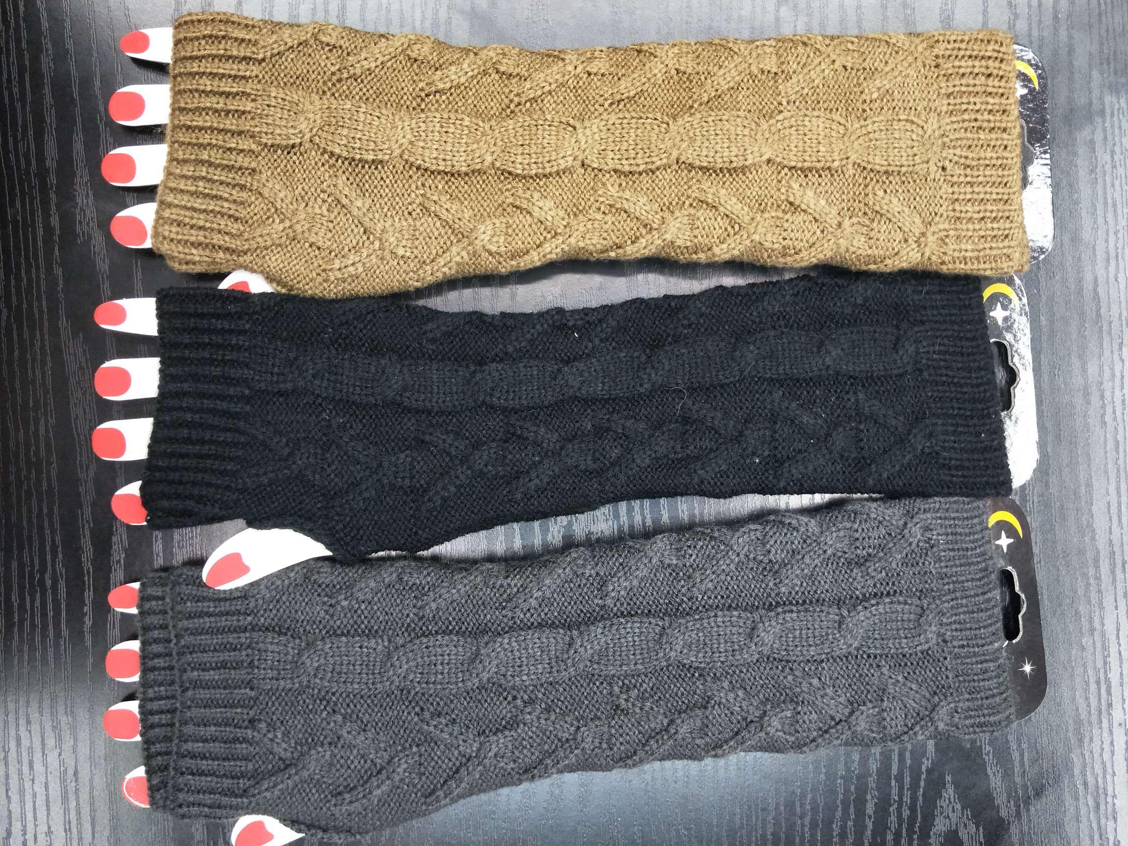 秋冬女士针织手臂套