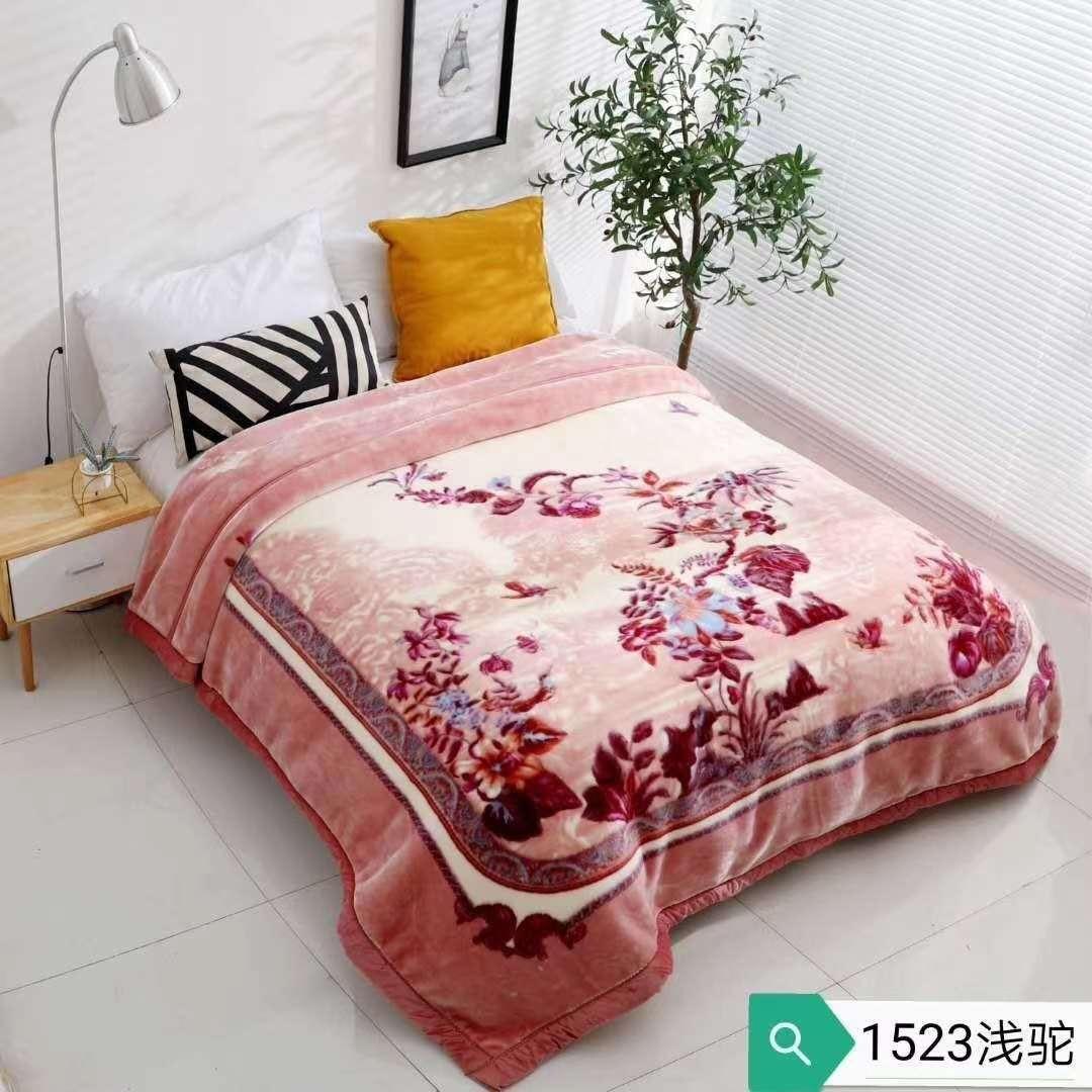 毛毯床上用品拉舍尔毛毯绒毯珊瑚绒云毯义乌好货