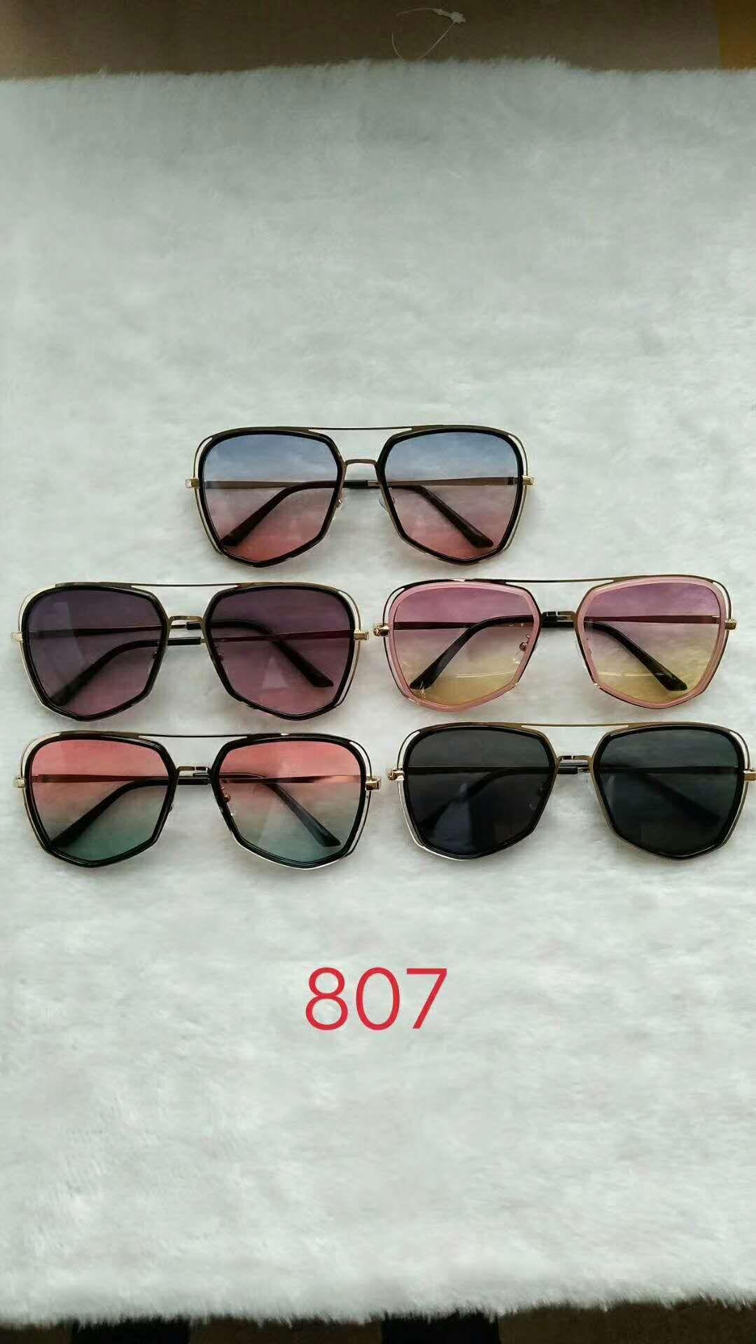 时尚太阳眼镜 807可多色混装  热销产品 爆款产品