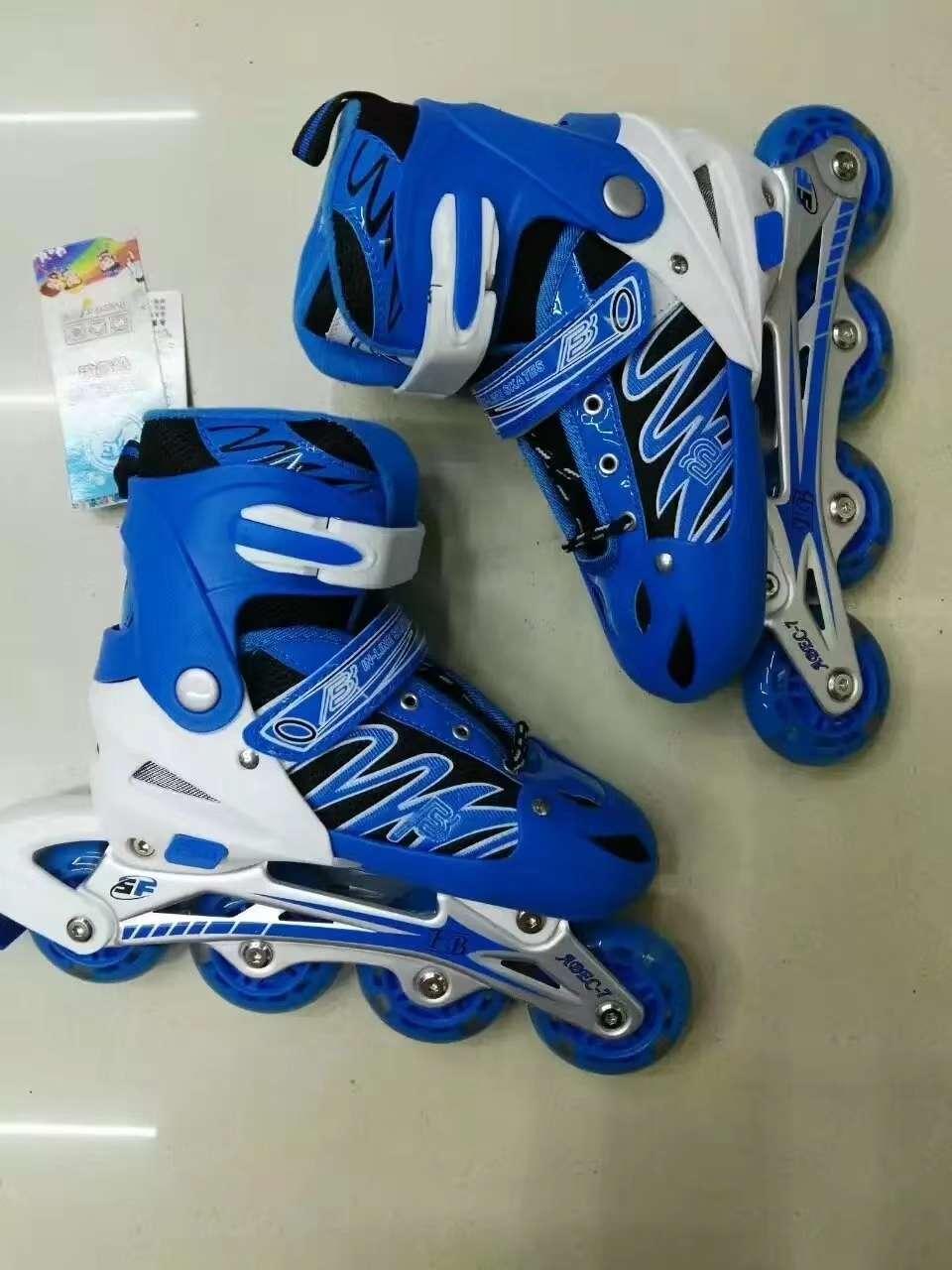 溜冰鞋轮滑鞋旱冰鞋pvc全闪光轮