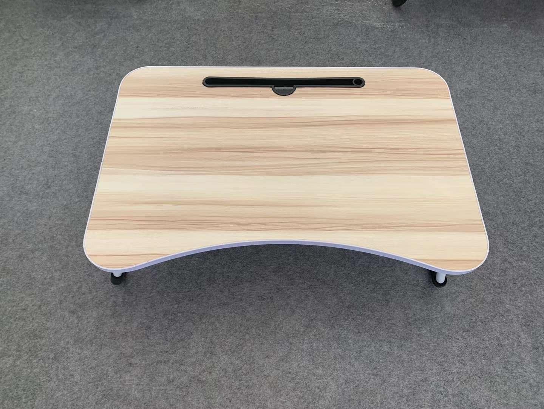 床上书桌木纹折叠小桌子懒人书桌儿童学习写字桌笔记本电脑桌