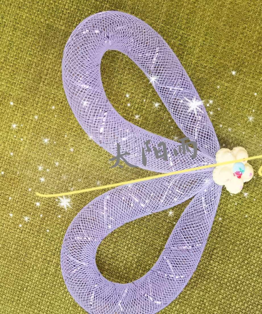 弹性纱网,厂家直销  儿童头箍 发夹服装配件diy