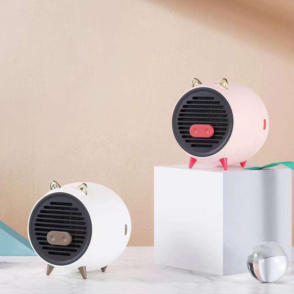 小猪暖风机新品上市: 1.工作电压:220V 2.额定功率:500W 3.产品功能:热风功能/定时功能 4.产品保护:有