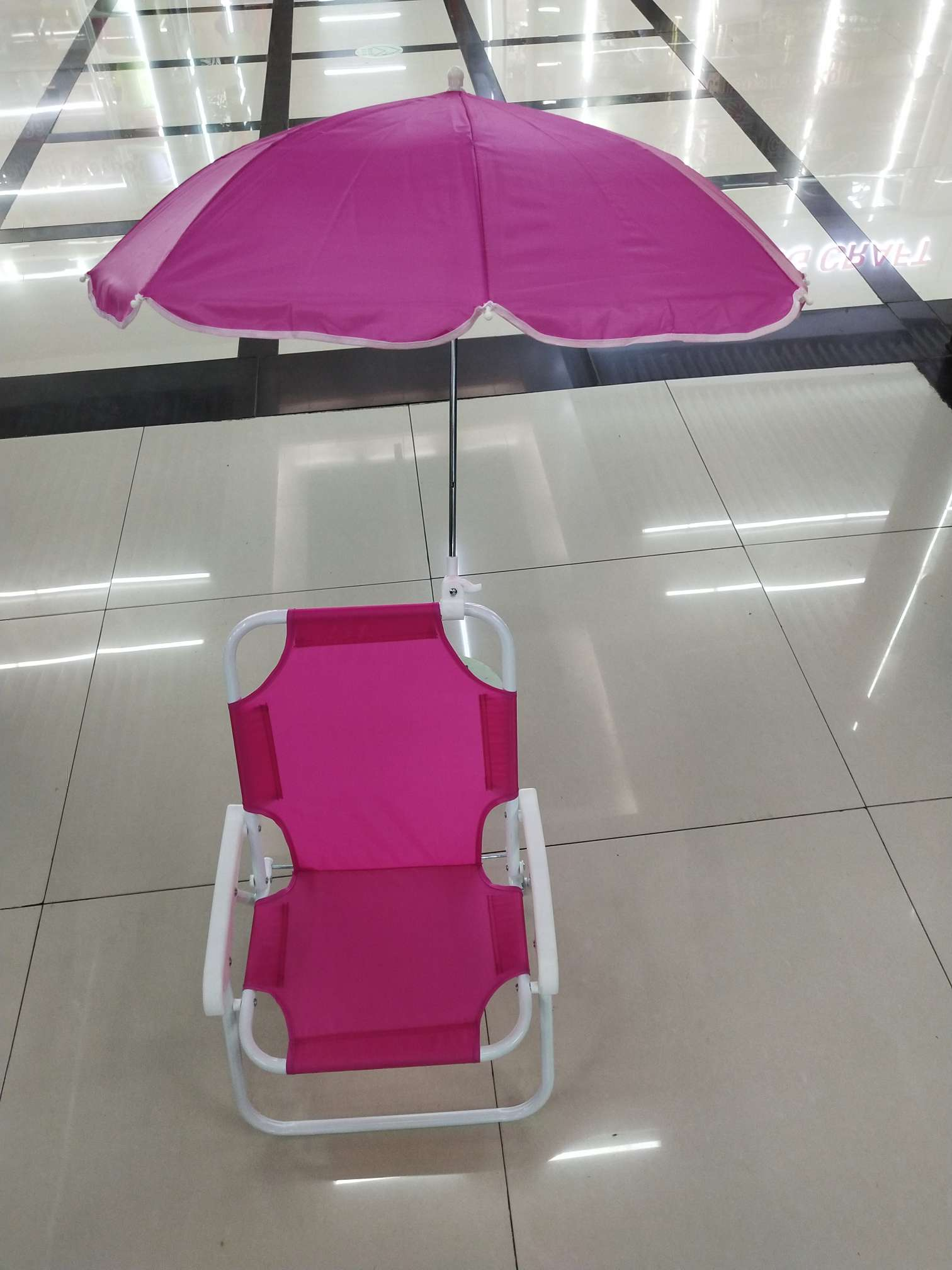 儿童椅休闲椅儿童小椅子带伞折叠宝宝椅携带方便