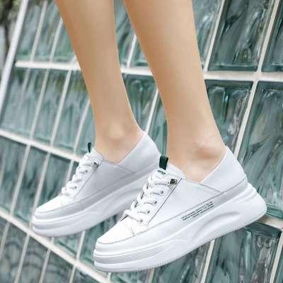 女式小白鞋