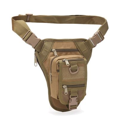 新款迷彩户外运动腰包男女军迷战术腿包防水登山骑行功能包