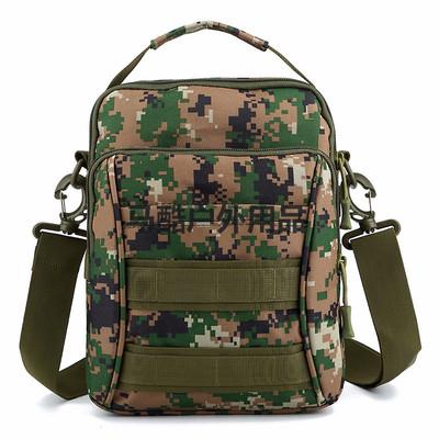 新款户外休闲包百搭男士出行斜挎包防水尼龙布包大容量单肩手提包