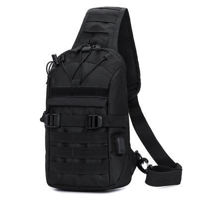 新款多功能户外背包男包防盗胸包迷彩战术背包运动旅行路亚包