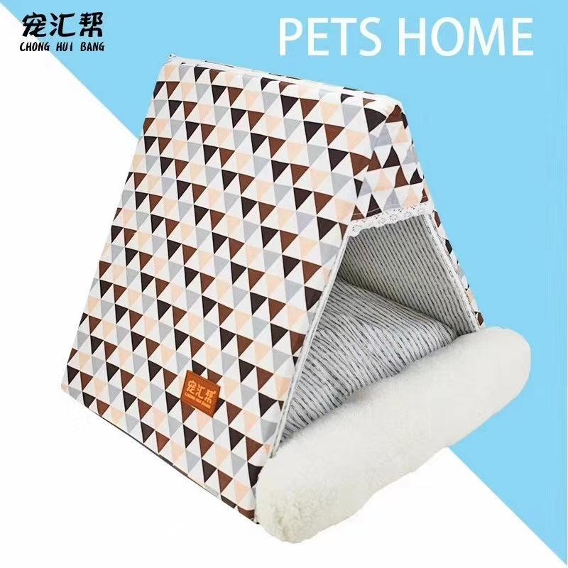 三角折叠帐篷,小房子帐篷,宠物宝宝们 安心的窝1!睡眠质量好白天有精神!
